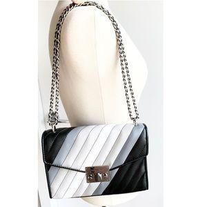 Rare Michael Kors chain flap black shoulder bag